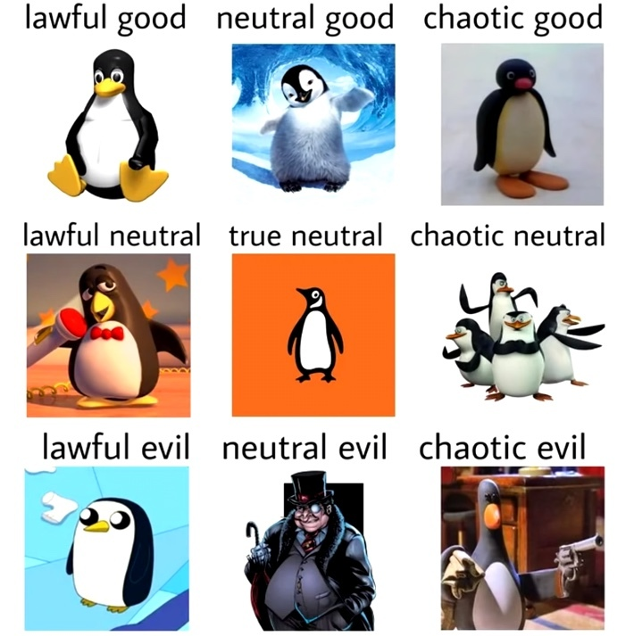 penguins... - meme