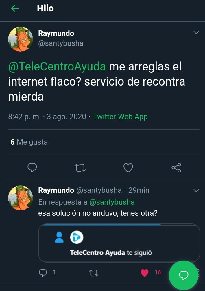 Telecentro, un servicio con buena gente - meme