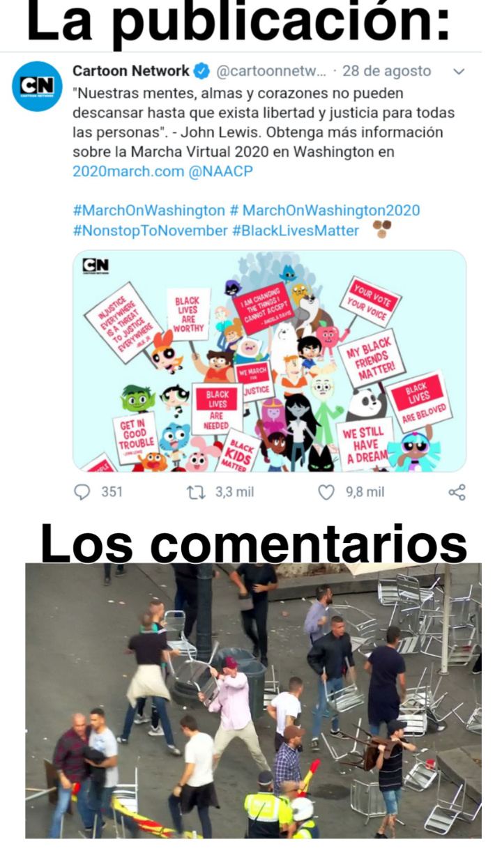 Cartoon progre network - meme