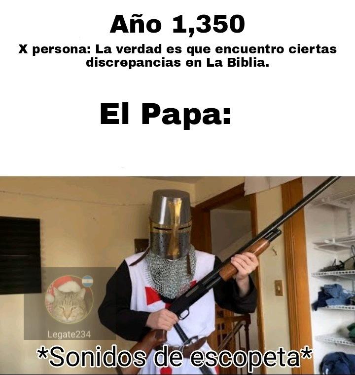 Inquisición - meme