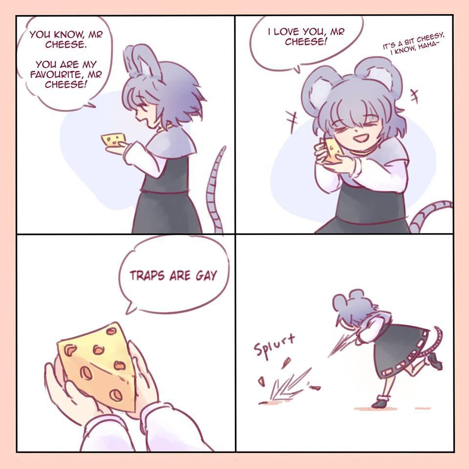 Fucking cheese! - meme