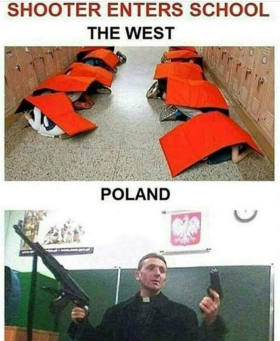 Poland is best land - meme