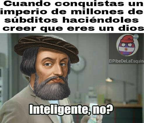 Cortés - meme