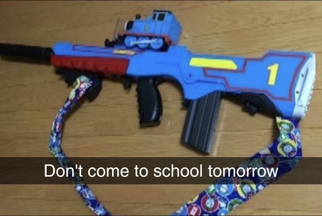 Insert guns here - meme