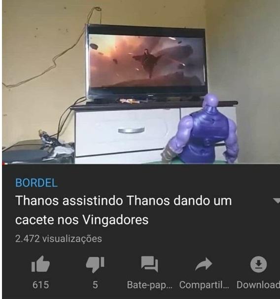 Thanos Thanos Thanos - meme