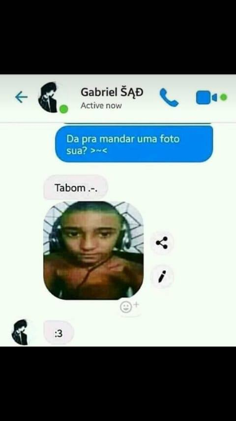 manda foto sua - meme
