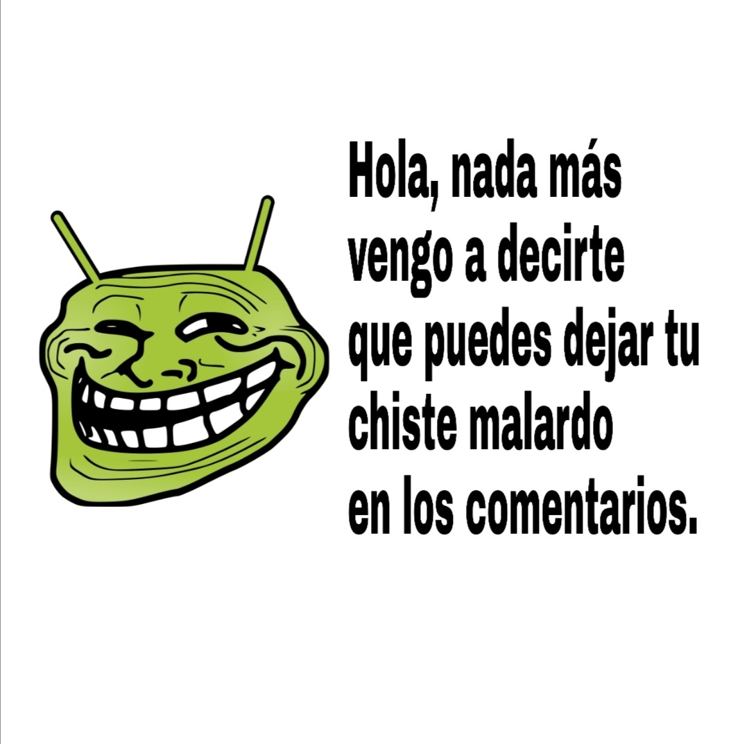 Salgan don comediantes - meme