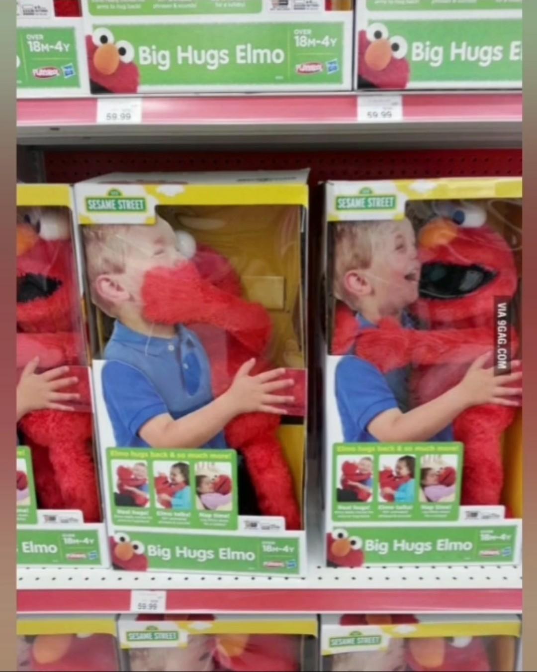 Elmo quiere tu riñon - meme