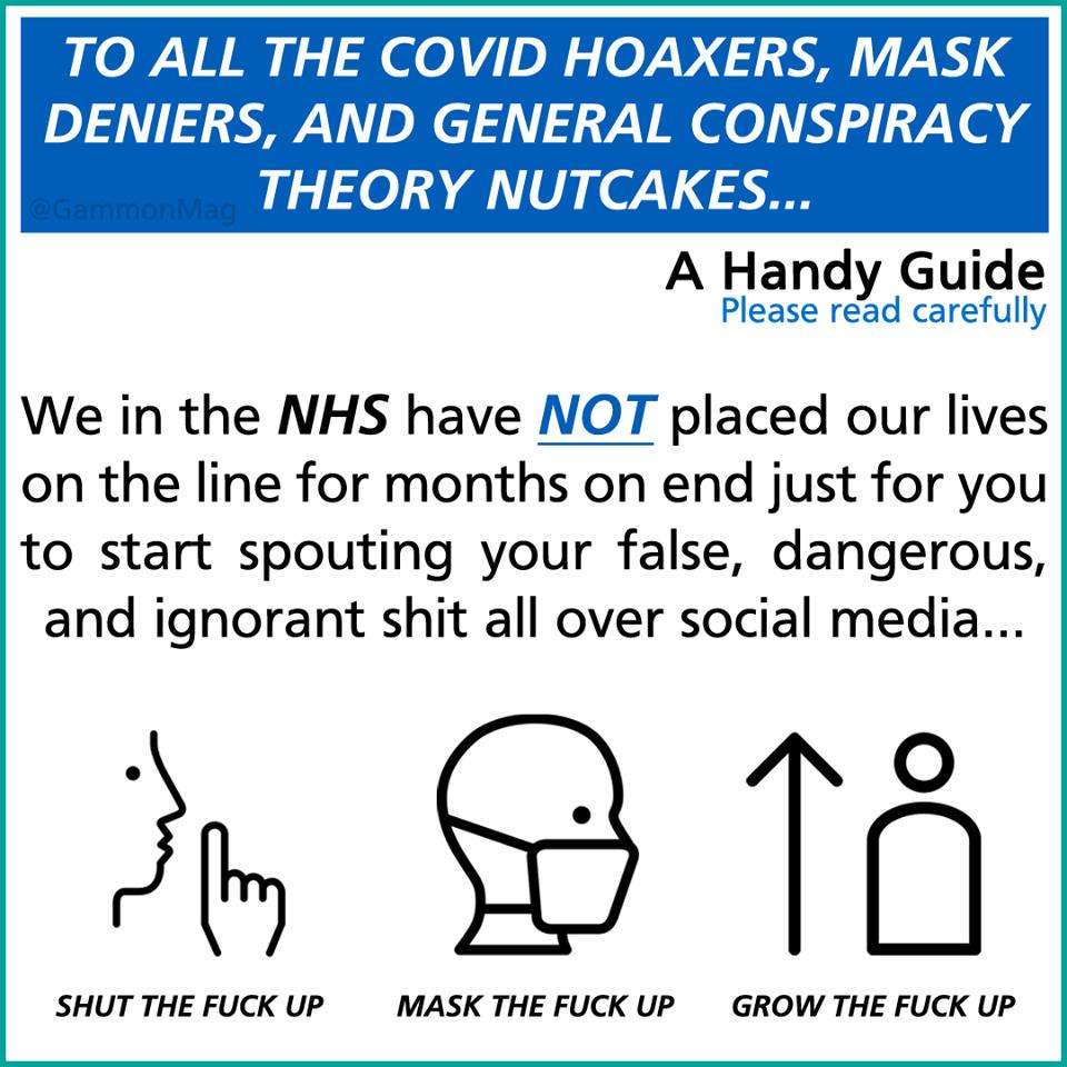 Covid NHS - meme