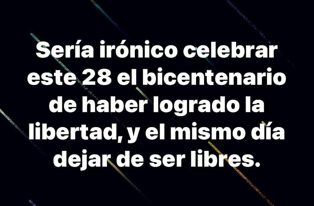 Peru bicentenario - meme