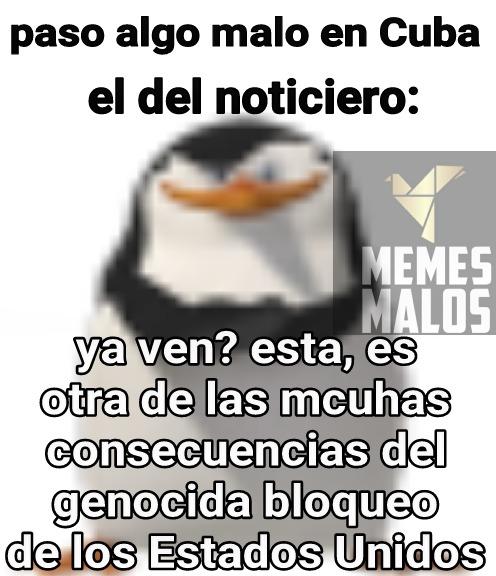 When bloqueo but genocidio *searde* - meme