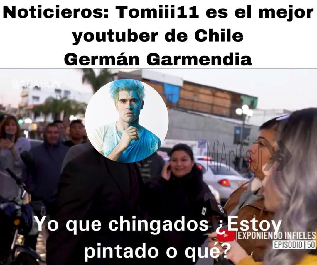 Muchos se les olvida que Germán es de Chile - meme