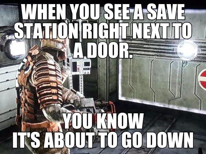dead space - meme