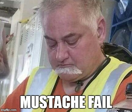 beard fail - meme