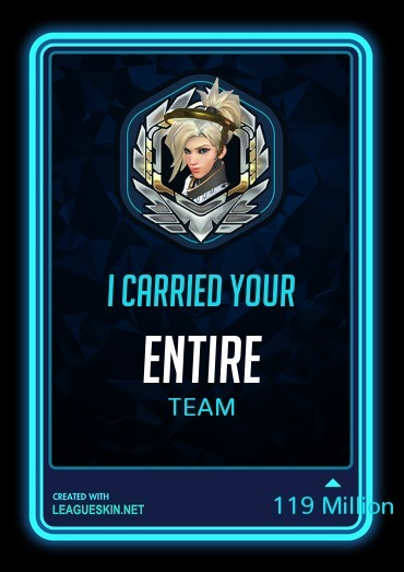 Thanks Mercy - meme