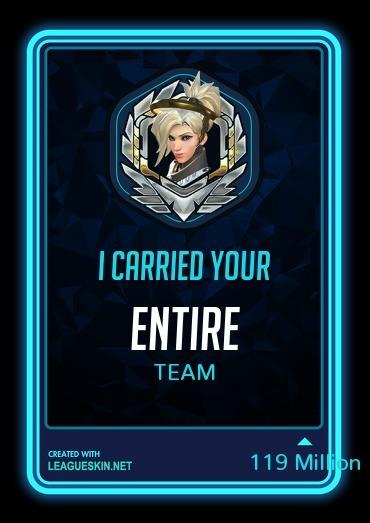 Thanks Mercy - meme