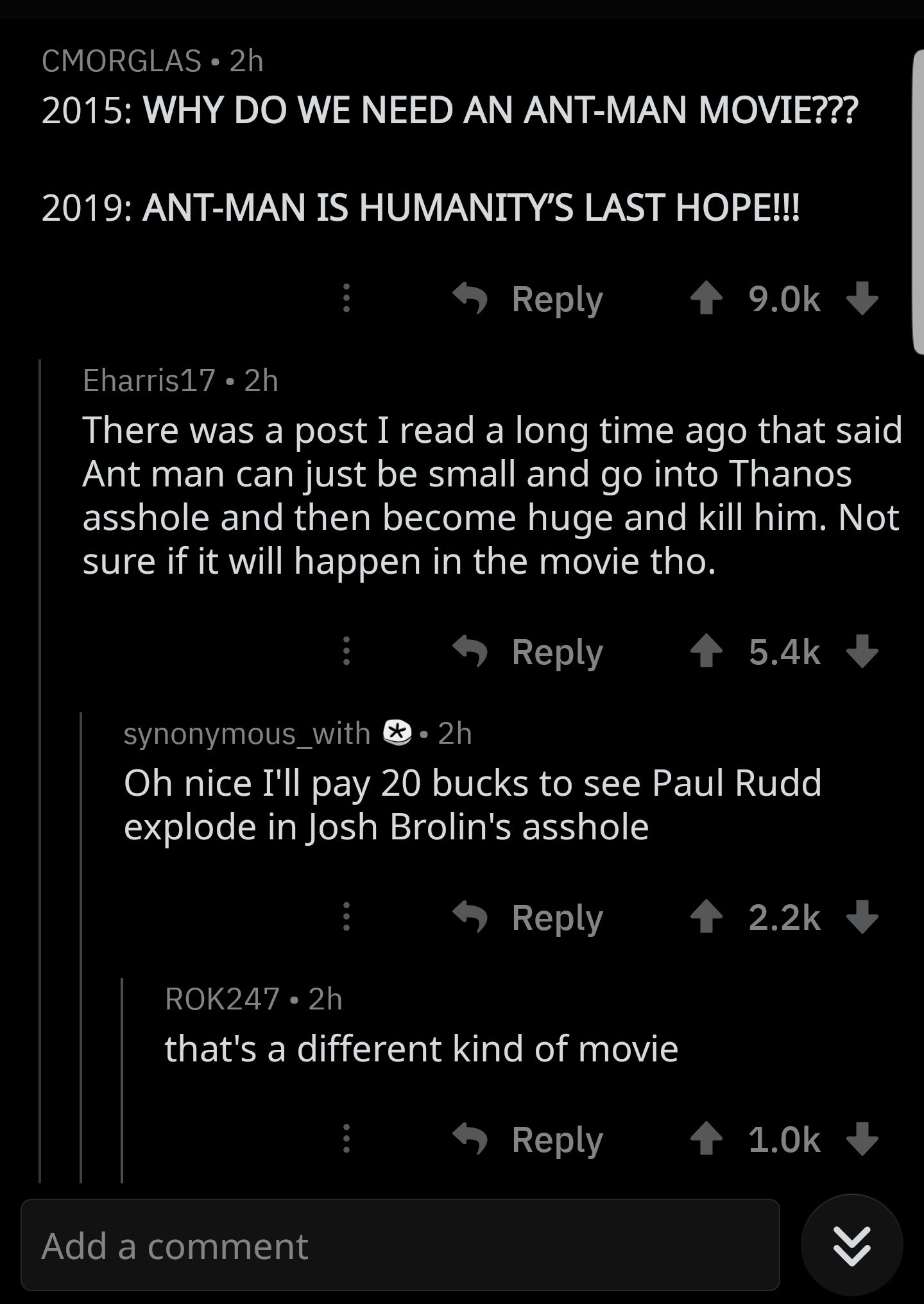 I'd pay too - meme