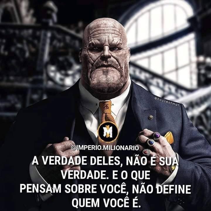 Thanos empreendedor fodase SIGO DE VOLTA ——> - meme