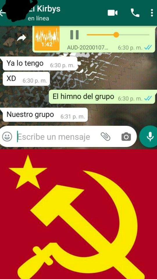 nuestro grupo - meme
