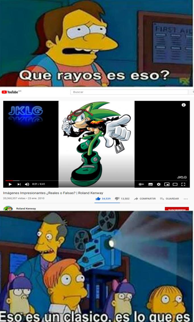 alguien se acuerda de este video - meme