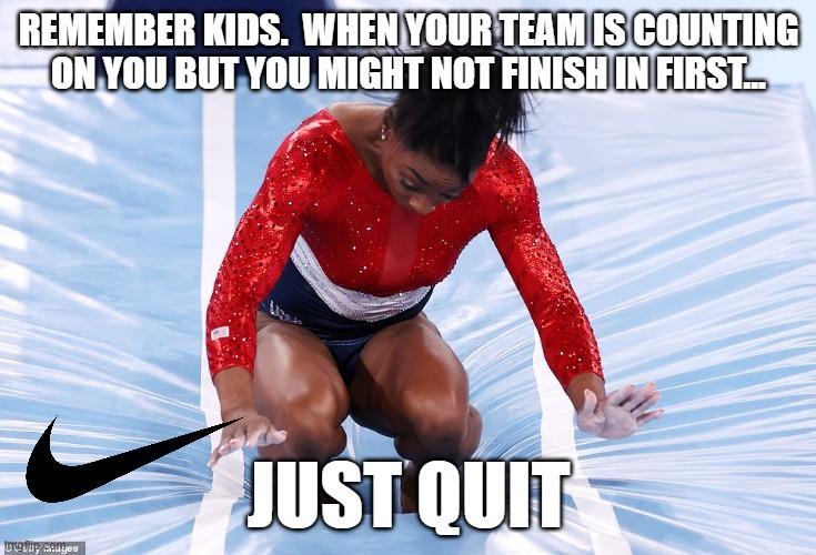 Just Quit - meme
