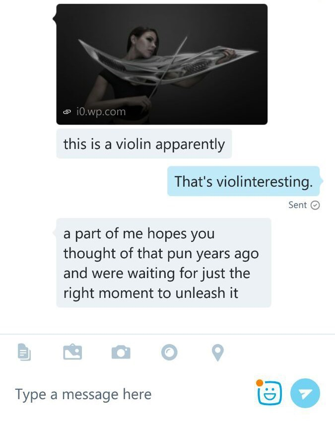 This is quite violintastic! - meme