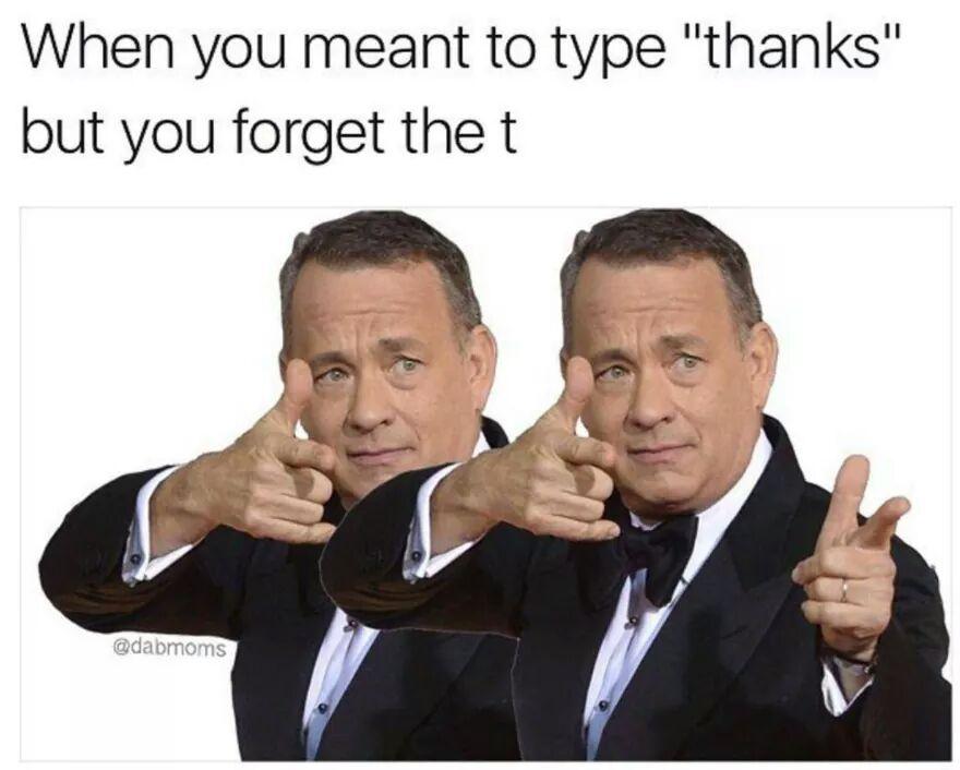 Hanks - meme