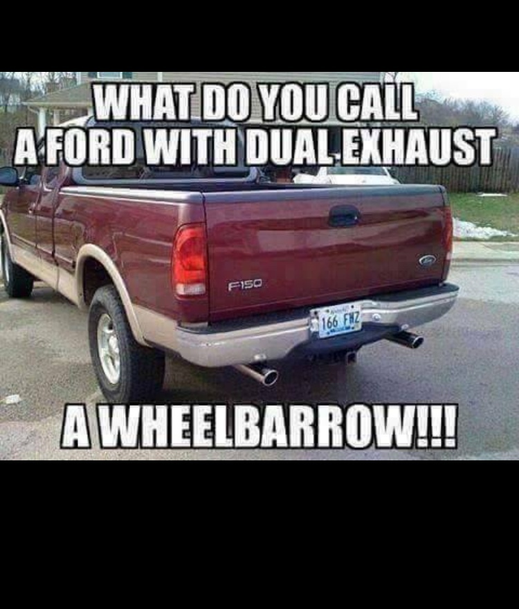 Ford sucks Chevrolet is better - Meme by BigTex_54 ...