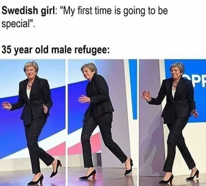 Sweden is the rape capital of the world - meme