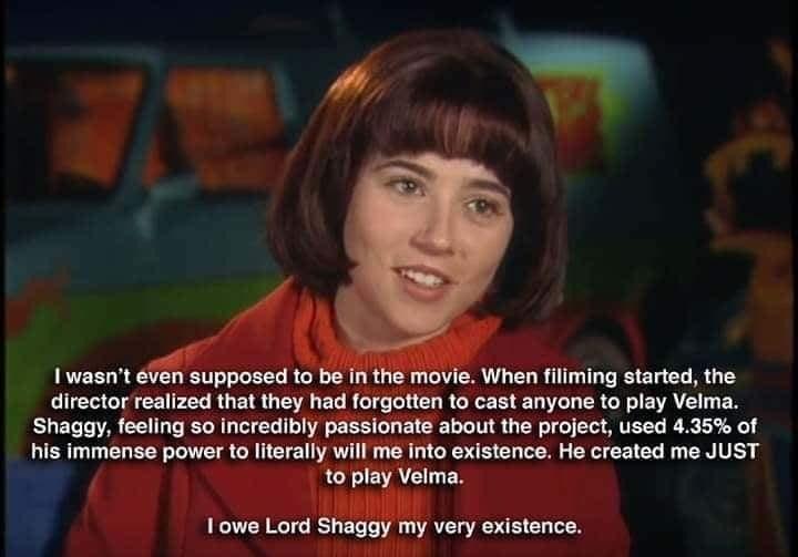 i would totally fuck Velma - meme