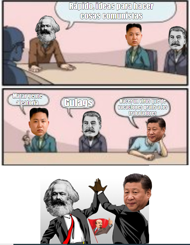 coronavirus es comunista demostrado 100tifikamente - meme