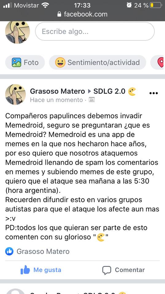 NO SOY DE ESE GRUPO ME LO PASARON - meme