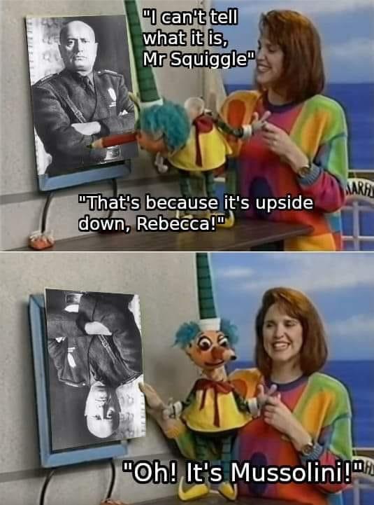 fascists mad - meme