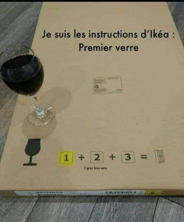 Faut bien suivre les instructions - meme