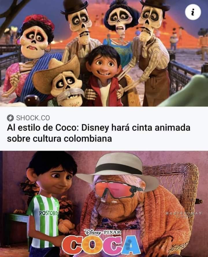 Esto es Colombia socios - meme