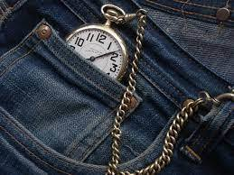 the tiny pocket on your pants is for a pocket watch - meme