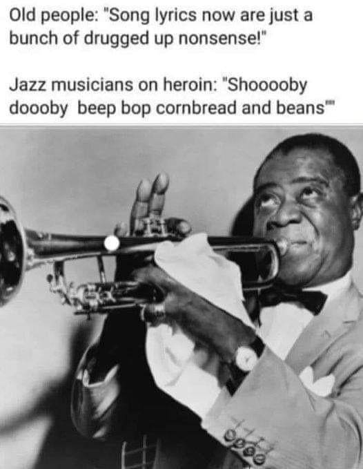 be bop dooby doo wop - meme