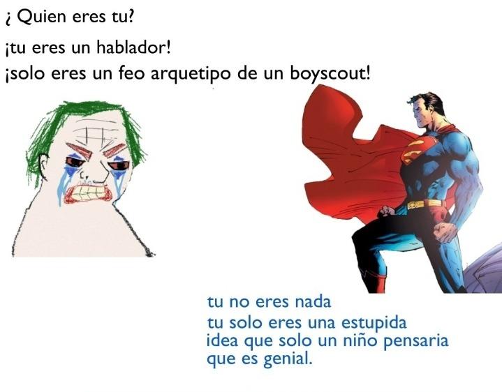 Superman basado - meme