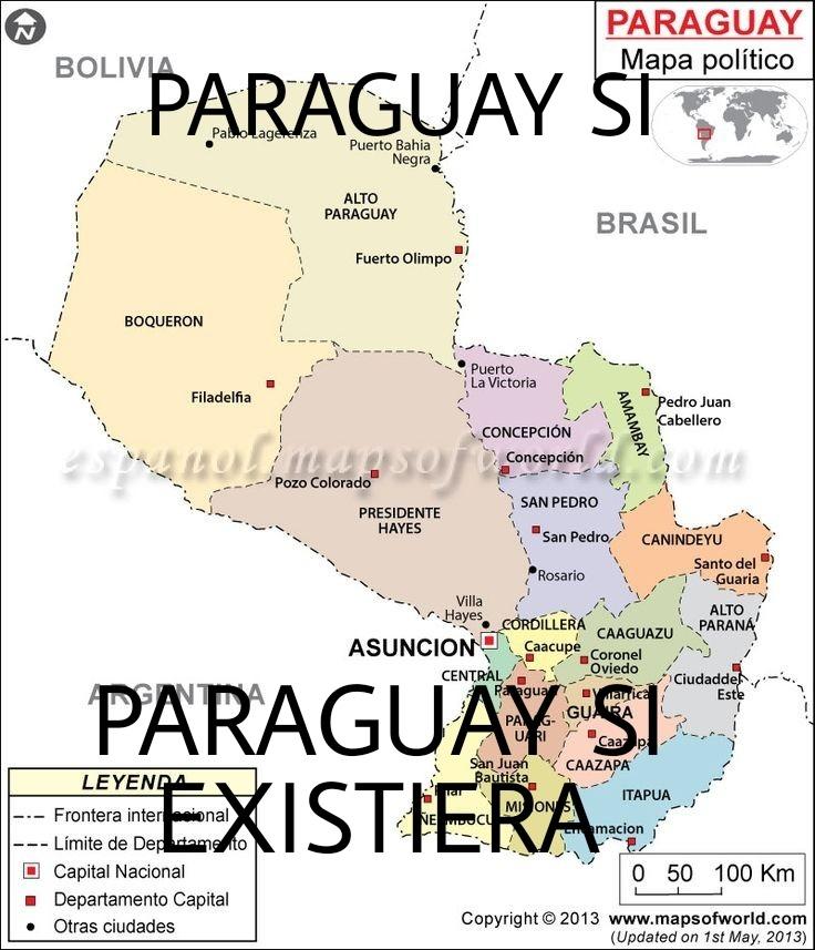 PARAGUAY si existiera - meme