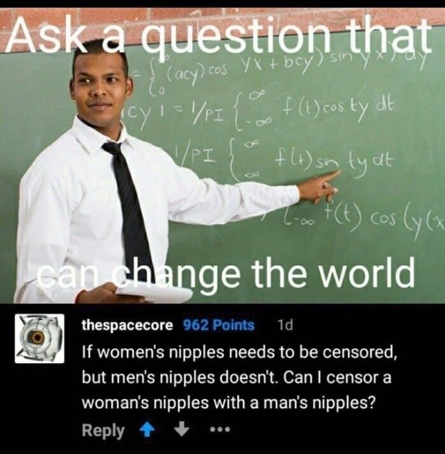 Now, who can answer this? - meme