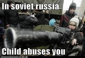 Children in Russia - meme