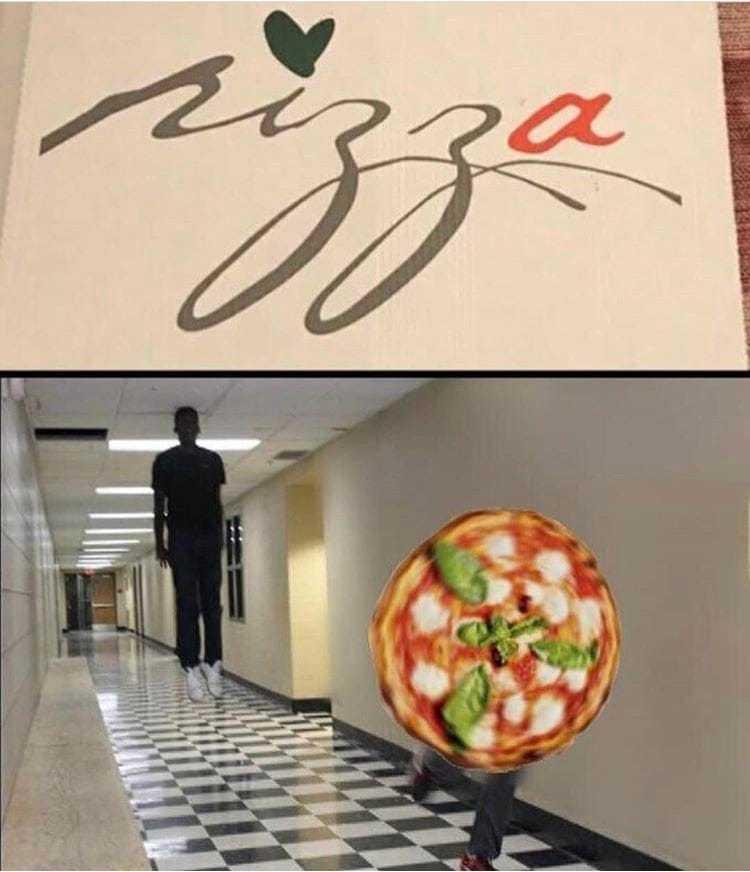 Nigga's pizza - meme