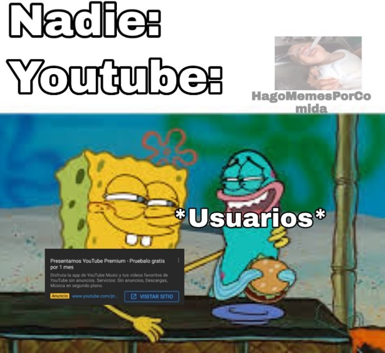 Youtube no entiende - meme