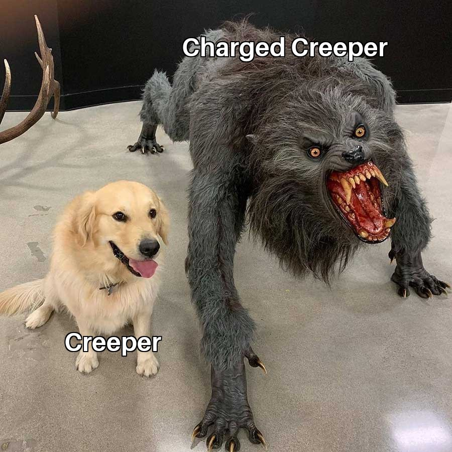 creeper? - meme