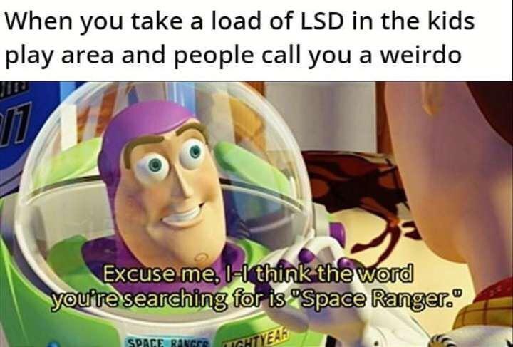 Space ranger - meme