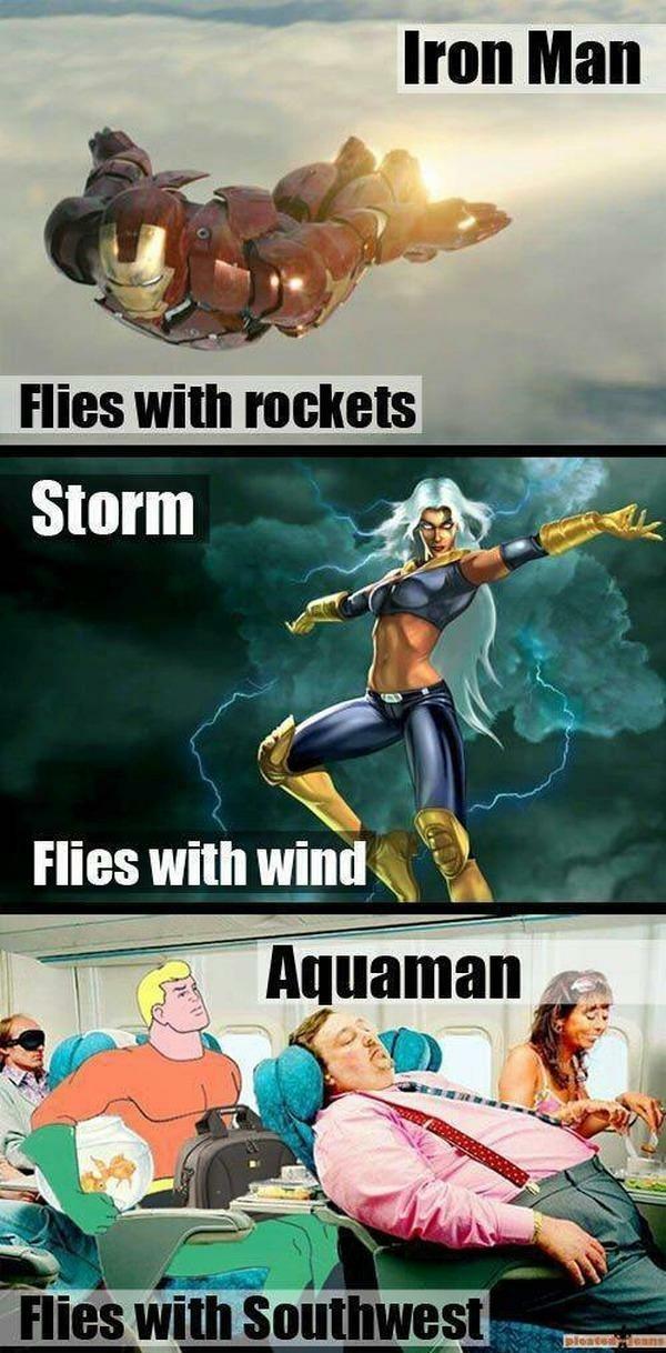 Storm has some nice tits - meme