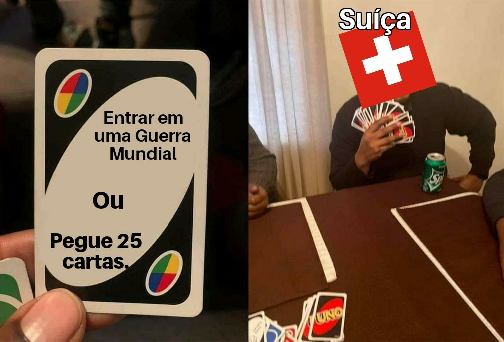 Suíça - meme