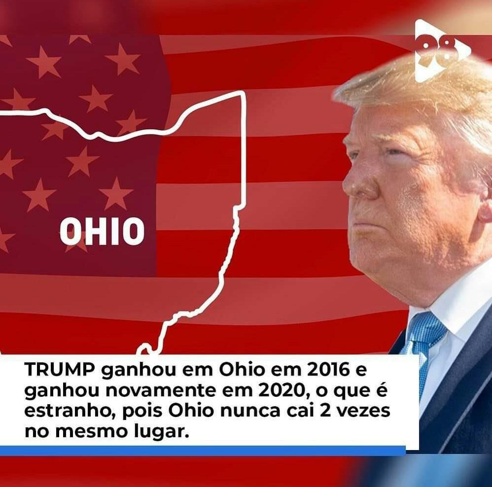 Trump envolvido em fraude, que decepção - meme