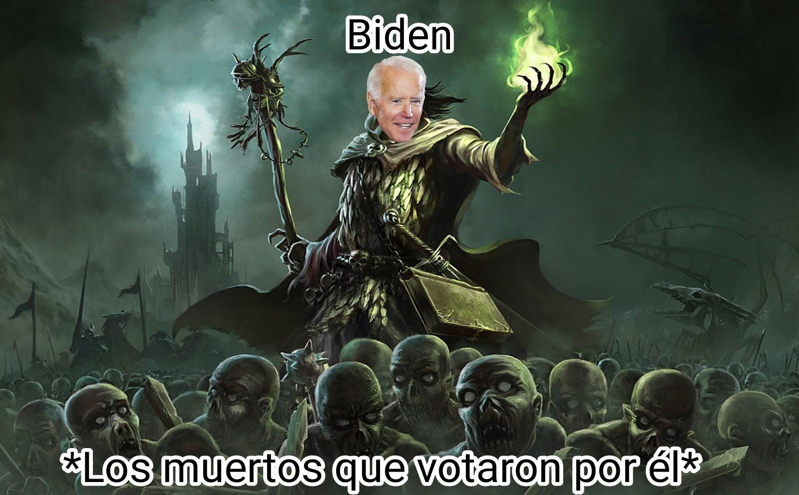 Se falsicaron votos usando muertos - meme