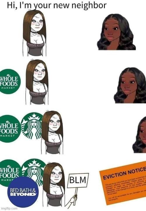 Eviction time - meme